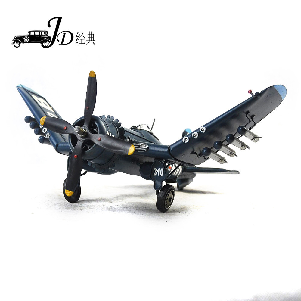 Brand New Plane Model Toys World War II 1944 USA F-4U Fighter Diecast Metal Plane Model Toy For Gift/Collection(China (Mainland))