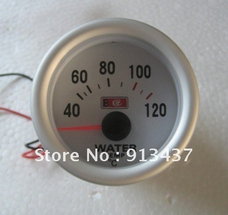 "2""52MM Popular sales Water Temperature auto racing gauge LED7702"