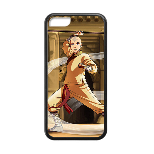 The Legend of Korra Aang Training Case for iPhone 5c Phone Wallet Case(China (Mainland))