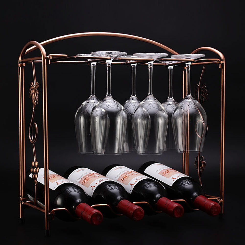 Fashion Wine Rack Home Decoration Modern Living Room Wine Cabinet Wedding Decor Gift Wine Glass Holder Shelf Wine Accessories(China (Mainland))