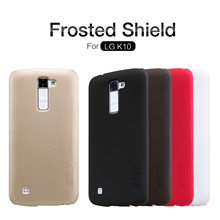 Buy Nillkin LG K10 LTE K420N K430 K430ds F670 Frosted Shield Cover Hight Frosted Shell Hard Case + 1pcs Screen Protector for $7.19 in AliExpress store