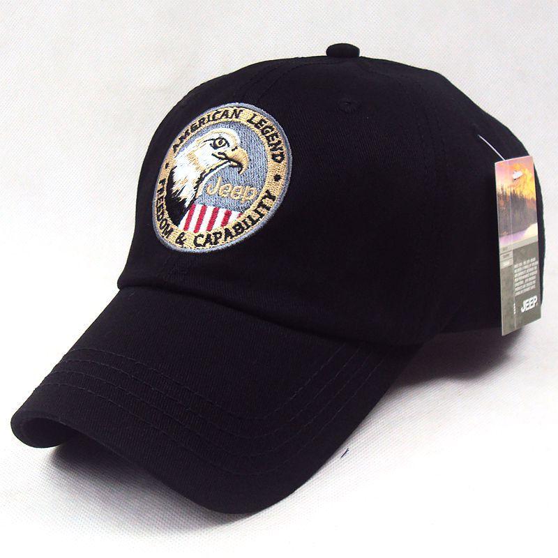 Fashion Jeep Eagle US Glag Baseball Cap Unisex Snapback Hat Sunbonnet Casual Sports Cap C162(China (Mainland))