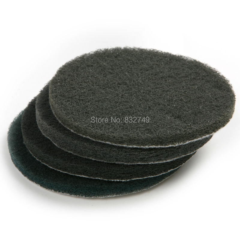 6 PCS Scouring Pad Grinding and Blending Disc Dremel Cleaning Tools for Wood Metal Coatings Other Materials(China (Mainland))