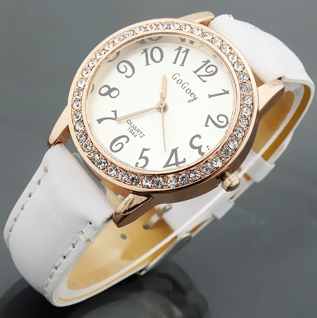 Watch Women Leather Quartz Watches GOGOEY Brand Luxury Popular Watch Women Casual Fashion Wristwatches Relogio feminino