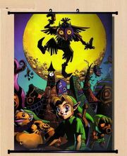 Wall Scroll The Legend of Zelda Majora's Mask cosplay Home Decor Poster