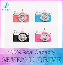 Bonito mini Cámara USB Flash Drive 512 GB cristal USB Flash Drive de regalo de la venta caliente de la manera especial 4 GB/8 GB/16 GB/32 GB 128 GB Wholesale
