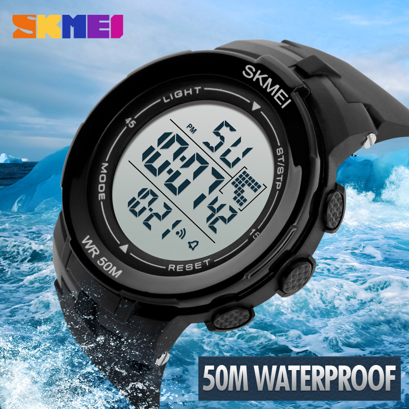 relogios masculinos skmei Brand Outdoor Sports Watches Men LED Digital Watch Military Men Sports Watches Digital Men LED Watch(China (Mainland))