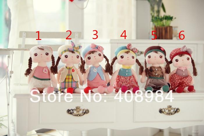 40cm Lovely Stuffed Cloth Doll Plush Toy Metoo Rabbit Doll Angela Christmas Girl Birthday Gift(China (Mainland))