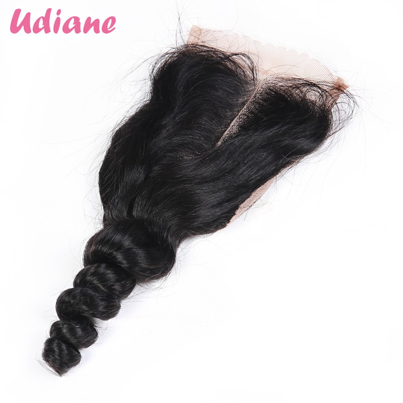 1B/Burgundy Ombre Hair Bundles 4pcs With Lace Closure Unprocessed Peruvian Virgin Hair With Closure Human Hair Weaves 4LD21LC