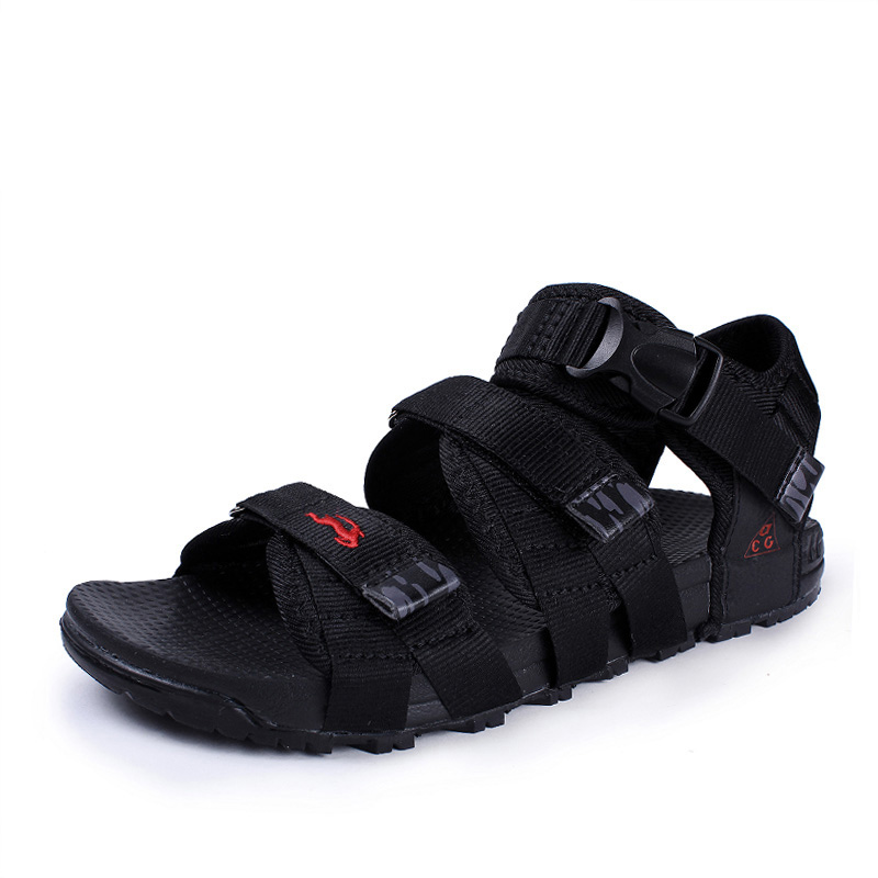 Summer 2016 Men Sandals Vetnam Shoes Gladiator Man Sandalias Non-slip Rubber Sole Outdoor Shoes