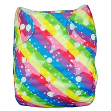 2014 New Print pretty baby diapers with 3 layer microfiber Inserts(China (Mainland))