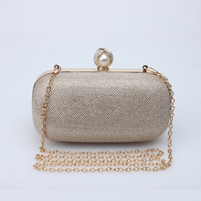 2016 new fashion Margue rite material Pearl headband holding drilling clutch handbag bag for wedding evening prom party dinner(China (Mainland))