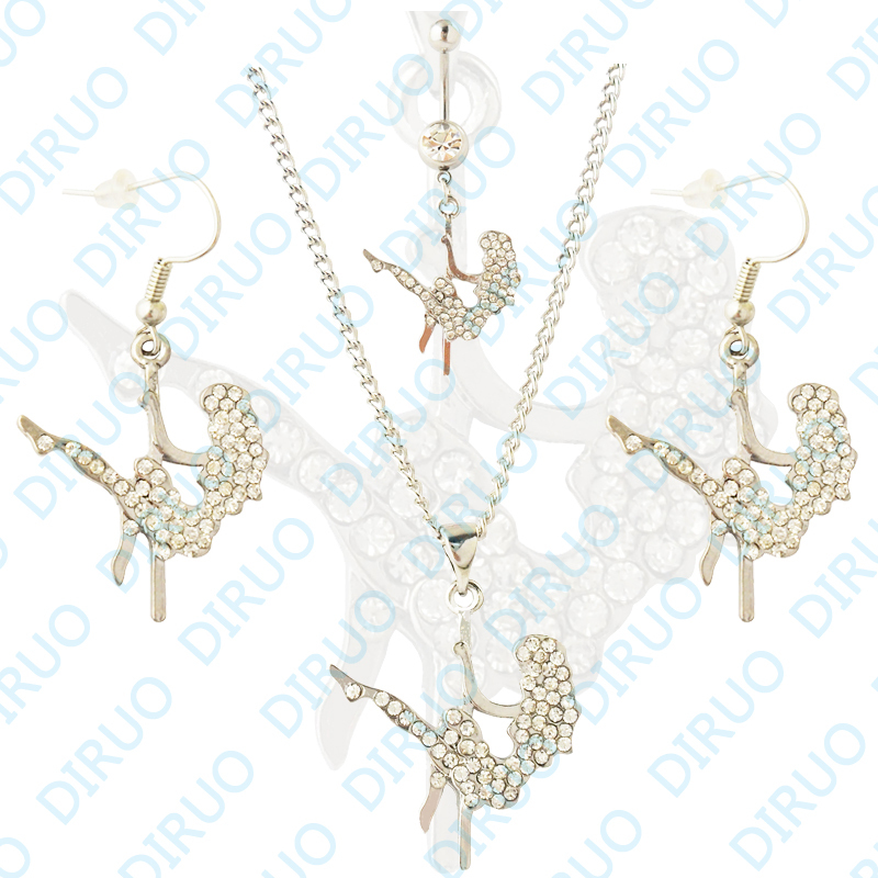 free shipping wholesale pole navel belly ring
