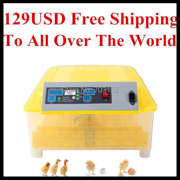 Инкубатор для куриных яиц HHD 129 48 48 incubator инкубатор какой фирмы лучше купить
