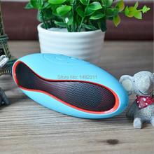 Mini X6U Bluetooth Speaker Portable Wireless Stereo Mic Handsfree Support TF Card/ USB/FM Radio MP3 MP4 for iPhone for Samsung