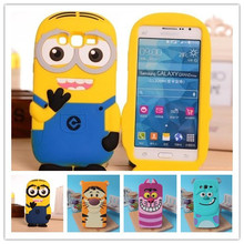 3D Cartoon Monsters University Silicon Case For Samsung Galaxy Grand Prime G530H G530F G530Y G530BT G531H Cover  DESPICABLE ME 2