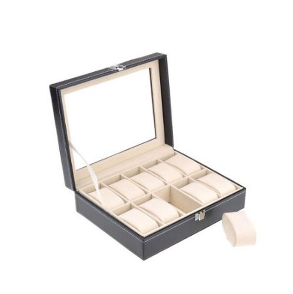 10 Grid Watches Display Storage Box Case Jewelry Fashion(China (Mainland))