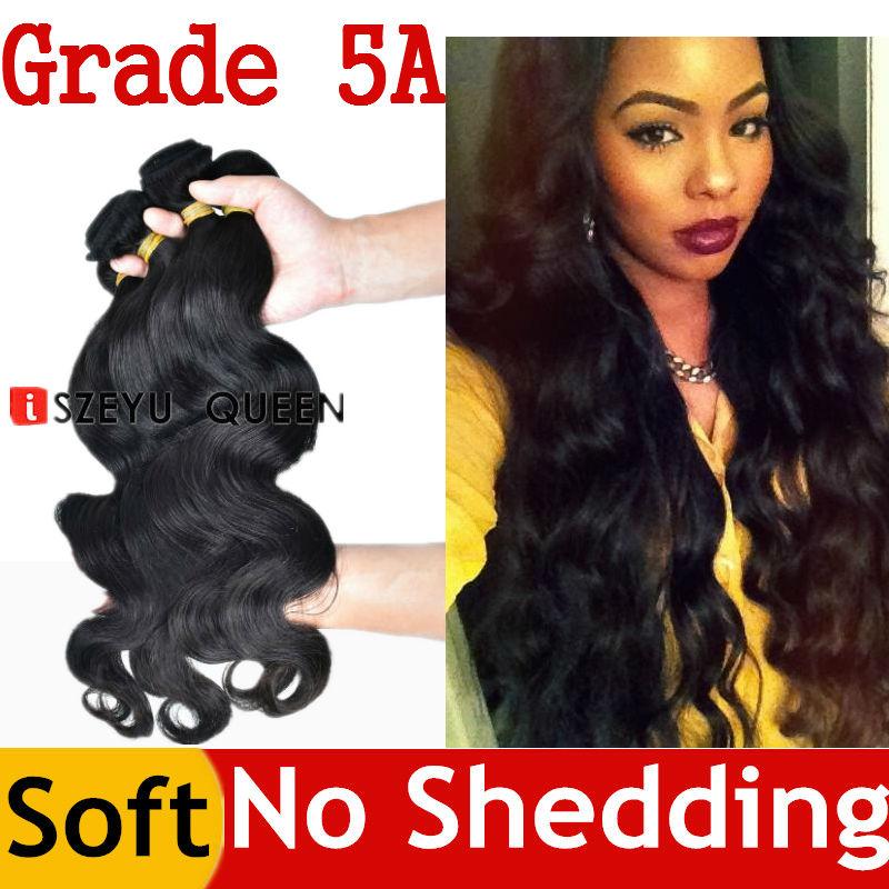 Queen Hair Products Guangzhou Queen Hair Indian Body Wave Queen Weave Beauty Indian Virgin Hair 4 Bundles 4pcs Cheap Extensions(China (Mainland))