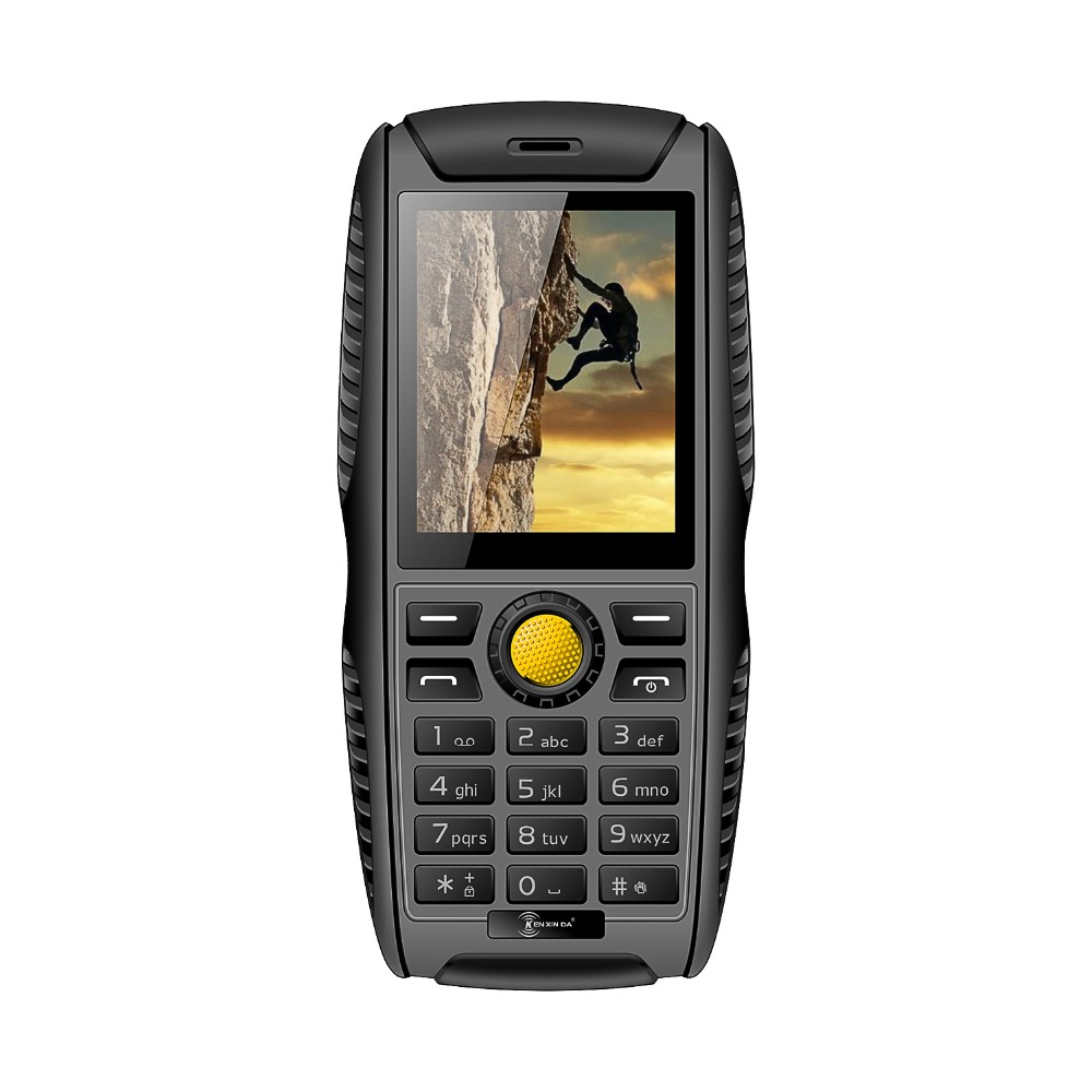 Original Kenxinda W3 IP68 Rugged Feature Phone SC6531 32MB ROM 0.3MP 2000mAh Battery Waterproof Shockproof Phone With CE(China (Mainland))