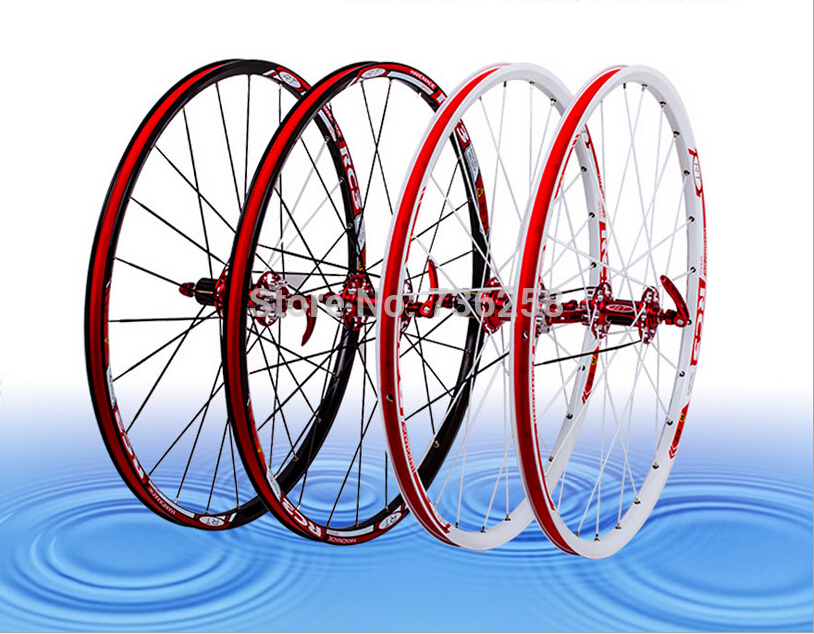 Mountain bike fast wheelset 26 inches Aluminum alloy bicycle rim Disc brake 26 inches double perlin carbon fiber flower drum(China (Mainland))