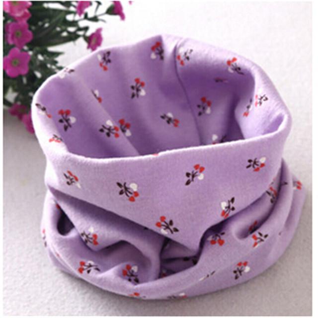 Мода четыре сезона хлопок шарф шаблон детские шарфы детские кольцо воротник дети ...