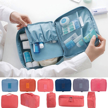 Casual Nylon Zipper New Women Makeup bag Cosmetic bag Case Make Up Organizer Toiletry Storage Travel Wash