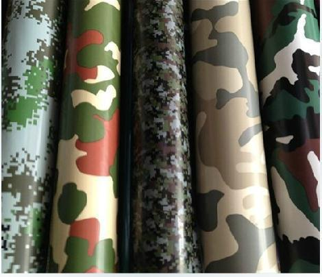 New Large Digital Army Military CAMO Camouflage Woodland Vinyls PVC Motorcycle Car Stickers Wrap Decal Steet Roll,152cm x10cm(China (Mainland))