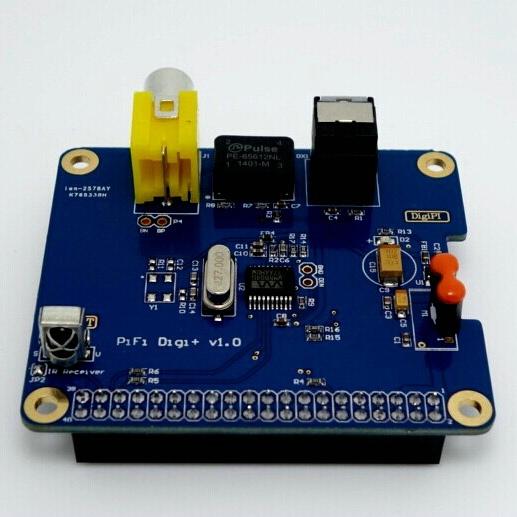 Бесплатная доставка hifi digi + цифровой звуковая карта i2s spdif для raspberry