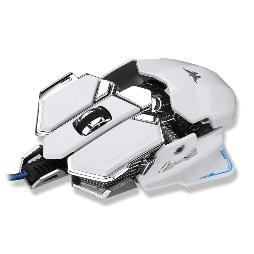 Mouse 4800DPI Optical USB Wired Gaming Mouse10 Buttons For Windows Mac OS PC(China (Mainland))