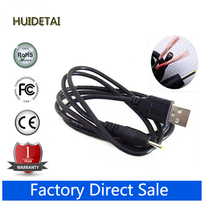 5pcs/lot 2.5 FT USB charge cable to DC 2.5 mm plug/jack for Cube Onda Sanei Vido Ployer SmartQ Freelander Tablet PC(China (Mainland))