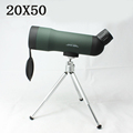 Quality 20x50 Zoom HD Monocular Telescope With Portable Tripod Night Version Spotting Scope