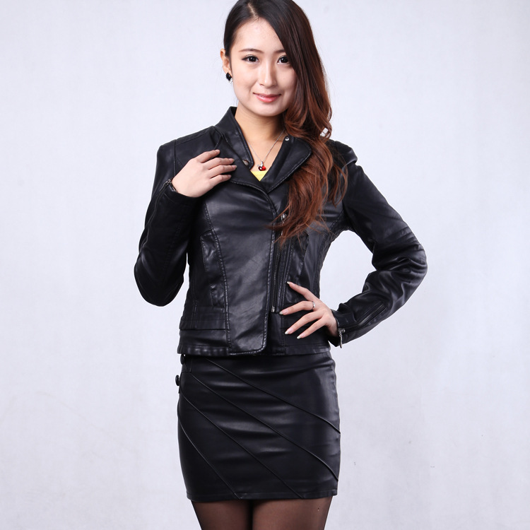 skirt silk Picture - More Detailed Picture about Leather Skirt ...