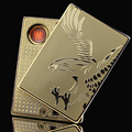 Elegant Metal Windproof Novelty Encendedor Usb Lighters Electronic Cigarette Lighter USB The Best lighters Gift for
