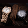Fashion Seasonal New Design Wooden Watch Men High Quality Japan Movement Sandalwood Quartz Watch with Giftbox