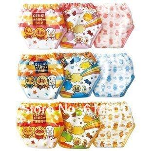 Free Shiping 3pcs 3 layer Baby Shorts Baby Training Pants Infant Diapers Baby Underwear Baby Boy Girl Nappies(China (Mainland))