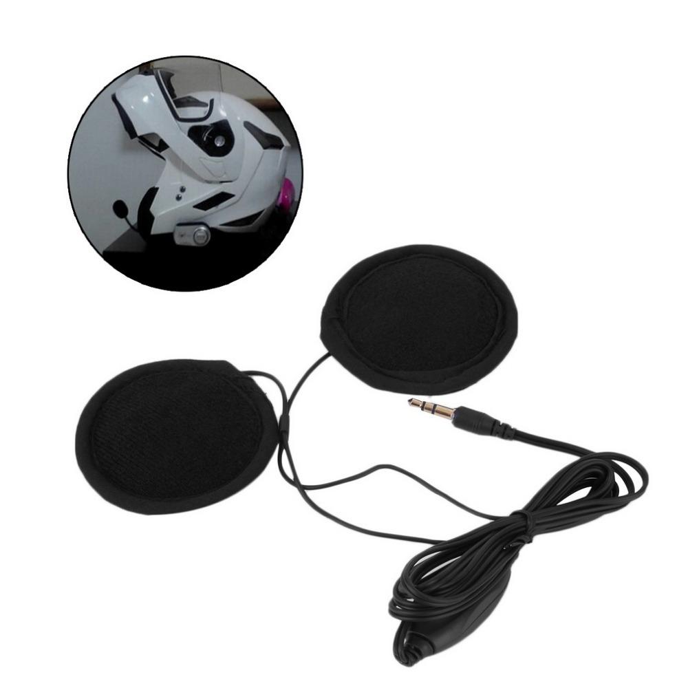 3.5mm Motorbike Motorcycle Helmet Stereo Speakers Headphones Volume Control Earphone for MP3 GPS Phone Music(China (Mainland))