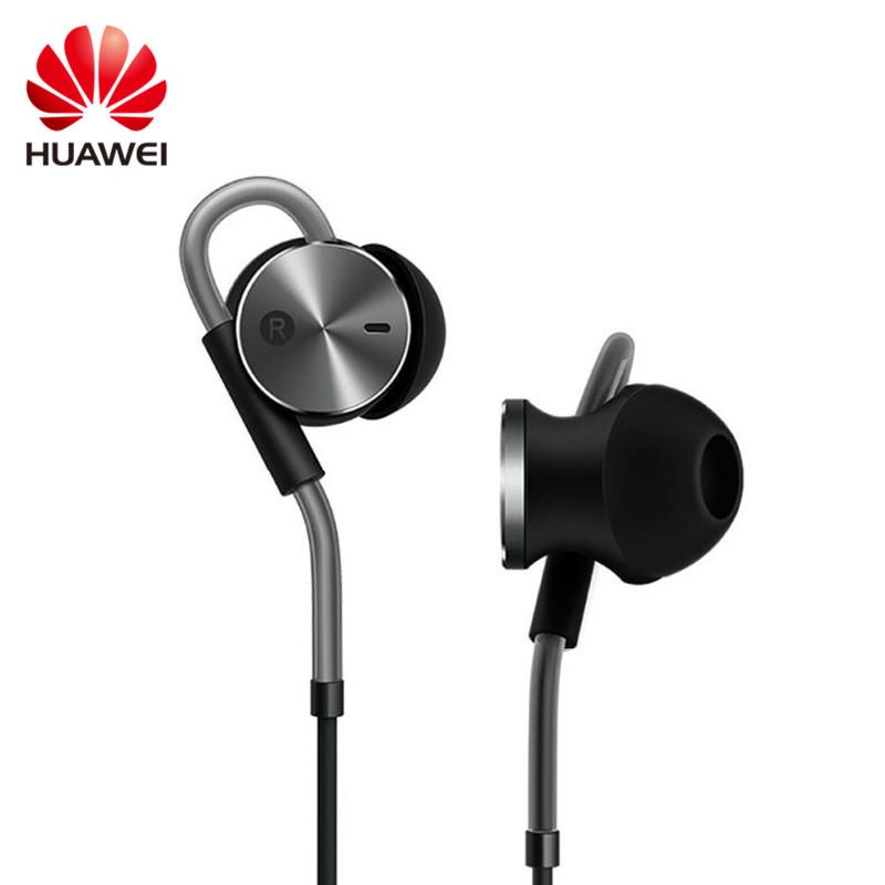 Фотография Huawei Origianl Active Noise Canceling Isolating Reduction Headset Earphone Aviation with Mic and Volume Control Mini Earphone