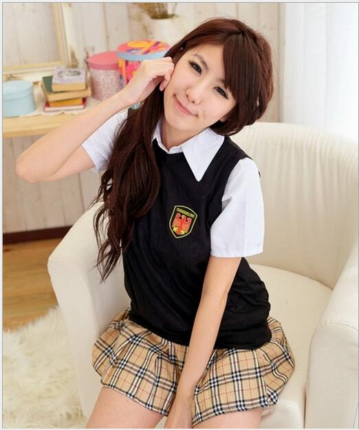 Hot COSPLAY student uniforms Sexy lingerie women costumes Sex Products toy Sexy underwear Role play t