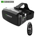 VR Shinecon Virtual Reality 3D Glasses Head Mount google cardboard VR Headset For 4 6 0