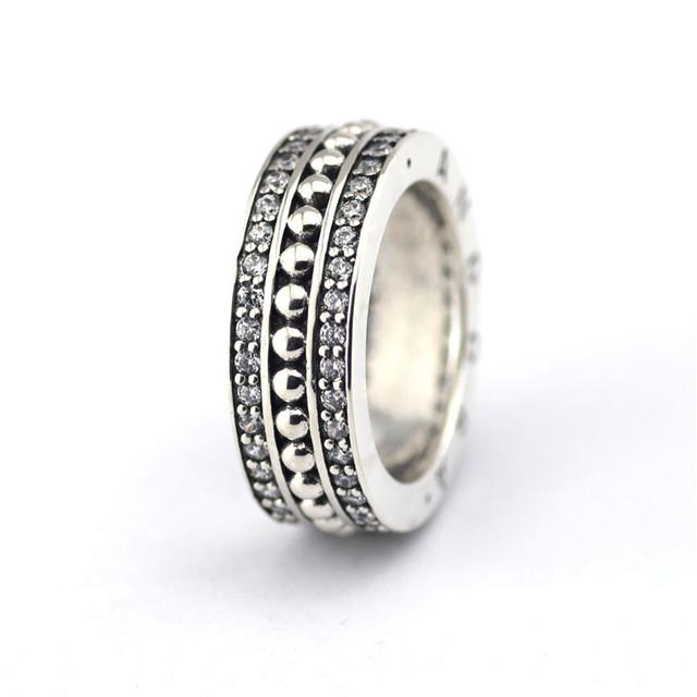 100% серебро 925 ювелирные Froever ясно CZ серебряные европы кольца женщин DIY мода аксессуары и украшения 925 кольцо оптовая продажа