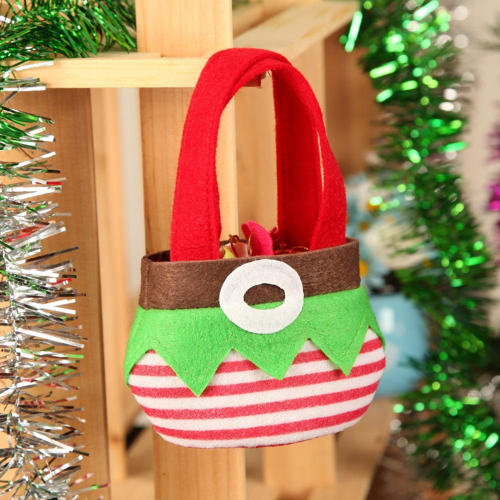 2pcs set christmas gifts candy bag christmas table - Table gifts for christmas ...