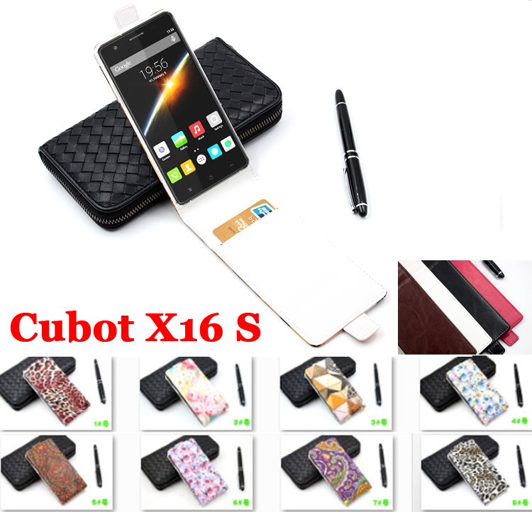 Leopard For Cubot X16 S Case Brand Luxury Leather Covers For Cubot X16S Phone Cover Business Flip Style Cubot X 16 S In Stock(China (Mainland))