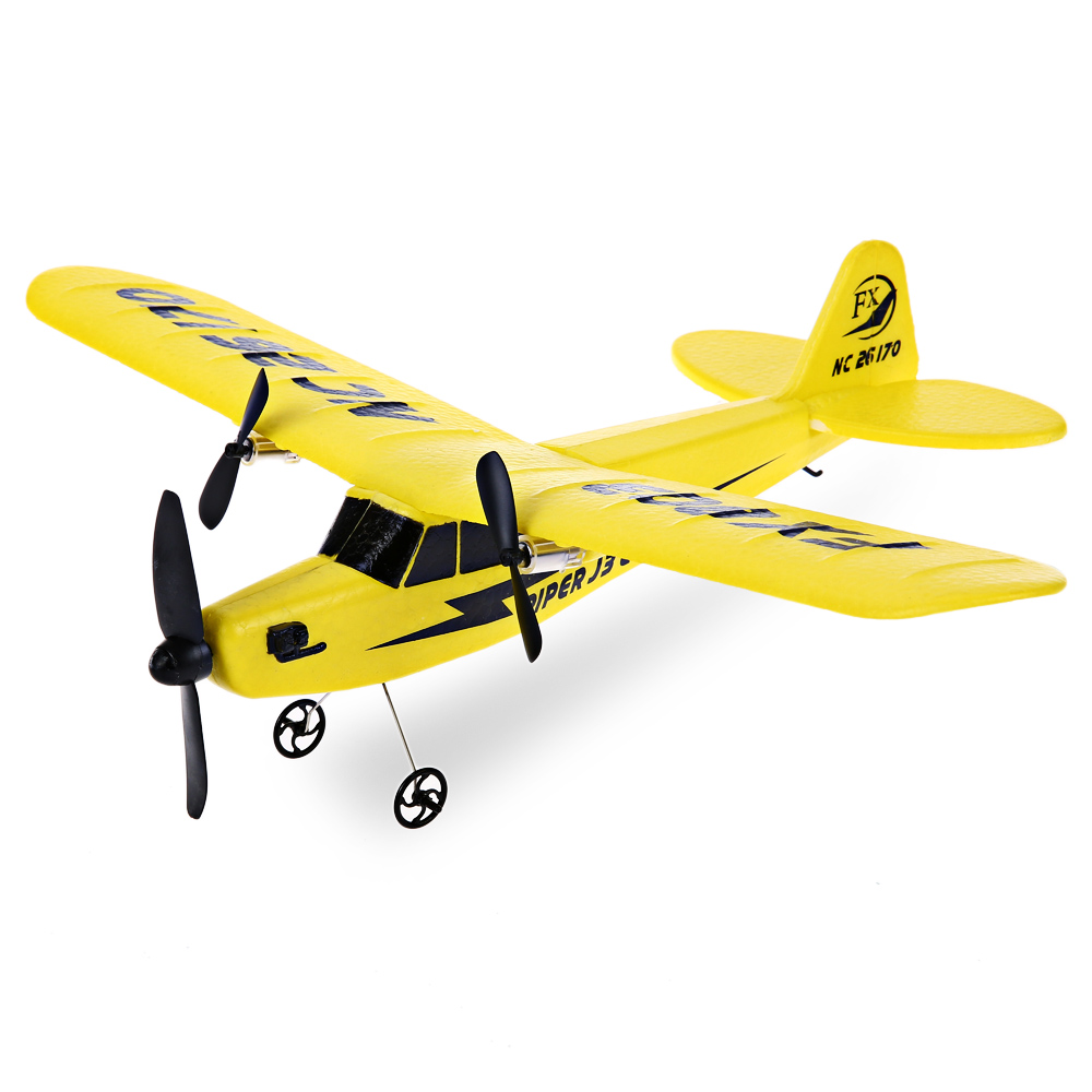 Flybear FX - 803 RC Plane 2.4G 2CH EPP Professional Glider Front-pull Double Propeller Ready-to-fly RC Toy(China (Mainland))