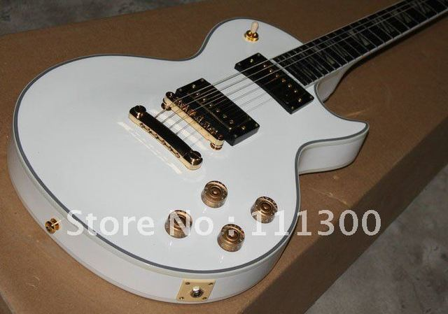 best Musical Instruments cherry 1997 Custom Shop Ultima white Electric Guitar