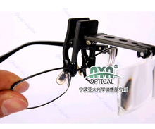A96 Folding Eyeglass Clip On Flip Loupe Magnifying Glass Handsfree Precise Magnifier