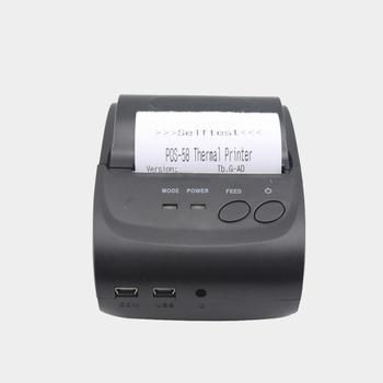 58 ММ портативный мини-принтер для печати квитанции по сделке с Android bluetooth приложение для телефона поддержка печатание логоса HS584A