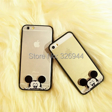 Hot 2015 Cute silicone protective sleeve i Phone4/4s and i Phone5/5s mobile phone shell / for i phone4/4S/5/5s Phone Case