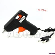 AK 1pc Electric Heating Hot Melt Glue Gun Sticks Trigger Art Repair Tool 20W EU Plug Free Shipping