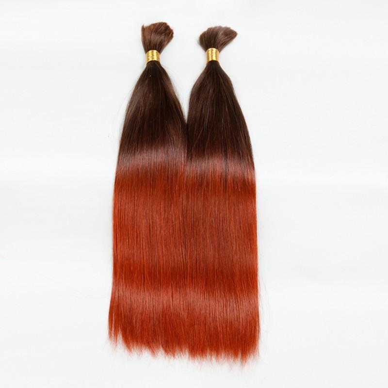 Sleek Human Braiding Hair Bulk T6/130 10A High Quality Brazilian Virgin Hair Ombre Colorful Human Hair 2PC Lot Aliexpress