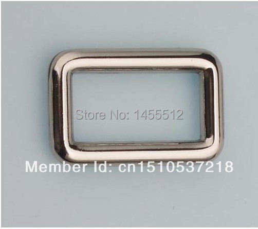 27*14mm(1 inch inside) DIY hand make zinc alloy bags metal hardware accessories square buckles(China (Mainland))